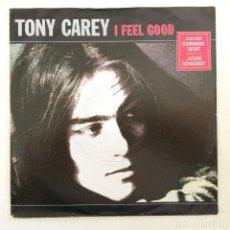 Discos de vinilo: TONY CAREY – I FEEL GOOD / KATJA'S SECRET GERMANY,1989 METRONOME. Lote 277119548