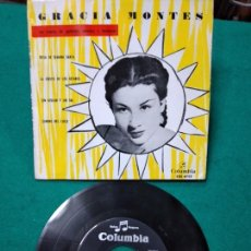 Discos de vinilo: GRACIA MONTES. ROSA DE SEMANA SANTA + 3. EP COLUMBIA. Lote 277127138