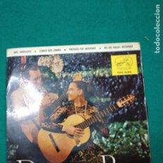 Discos de vinilo: DORITA Y PEPE. DOS ARBOLITOS + 3. EP PROMOCIONAL LA VOZ DE SU AMO.. Lote 277127328