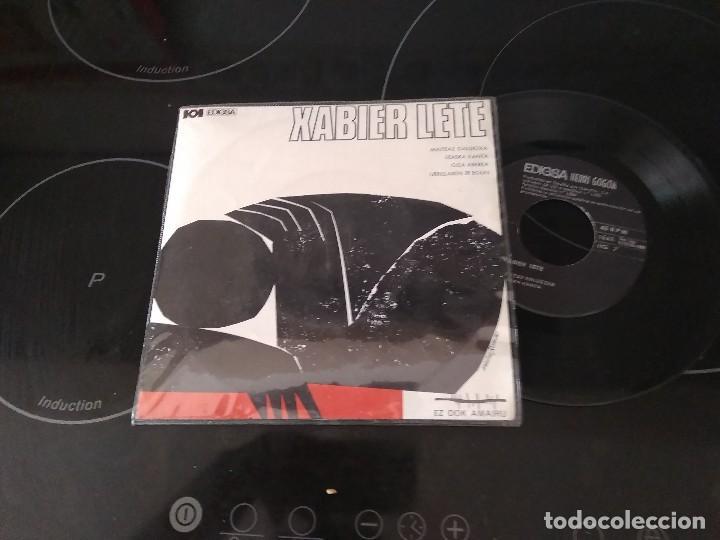 XABIER LETE / MAITEAZ GALDEZKA ( EZ DOK AMAIRU ) EP 45 RPM / HERRI GOGOA (Música - Discos de Vinilo - EPs - Country y Folk)