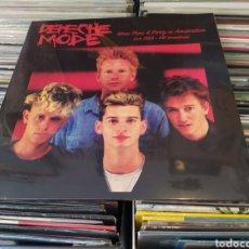 Discos de vinilo: DEPECHE MODE–MORE THAN A PARTY IN AMSTERDAM LIVE 1983. LP VINILO PRECINTADO.. Lote 277131808
