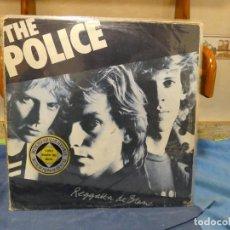 Discos de vinilo: LP ALEMANIA CIRCA 1980 THE POLICE REGATTA DE BLANC VINILO BASTANTE BIEN TAPA ACEPTABLE. Lote 277134048