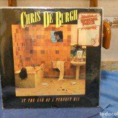Discos de vinilo: LP ALEMANIA CHRIS DE BURGH ALEMANIA 1977 IN THE END OF A PERFECT DAY TAPA ALGUN NERVIO VINILO OKKKK. Lote 277134228