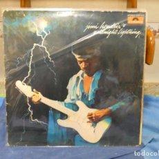 Discos de vinilo: LP ALEMANIA CIRCA 1975 JIMI HENDRIX BURNING MIDNIGHT LAMP VINILO CIERTO USO NO RALLONES MORTALES. Lote 277135448