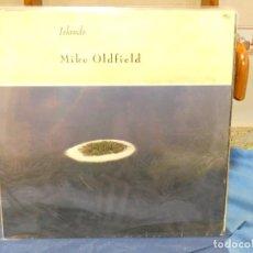 Discos de vinilo: LP ALEMANIA CIRCA 1987 MIKE OLDFIELD ISLANDS PEQ SEÑALES USO AUN ACEPTABLE. Lote 277135568