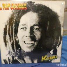 Discos de vinilo: LP BOB MARLEY AND THE WAILERS KAYA ED ALEMANA SANISIMO ESTADO GENERAL. Lote 277136483