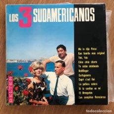 Discos de vinilo: LOS 3 SUDAMERICANOS - S/T - LP BELTER 1966. Lote 277138838