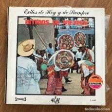 Discos de vinilo: 101 STRINGS - RITMOS DE MÉXICO - LP YUPY 1970. Lote 277140263