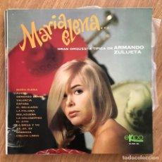 Discos de vinilo: GRAN ORQUESTA TÍPICA DE ARMANDO ZULUETA - MARÍA ELENA... - LP EKIPO 1967. Lote 277141193