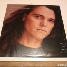 Discos de vinilo: TIMOTHY BSCHMIT LP TELL ME THE TRUTH USA.1990. Lote 277141723