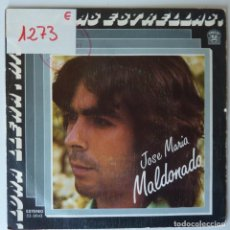 Discos de vinilo: JOSE MARIA MALDONADO // HIJOS DE LAS ESTRELLAS // 1982 // SINGLE. Lote 277143308