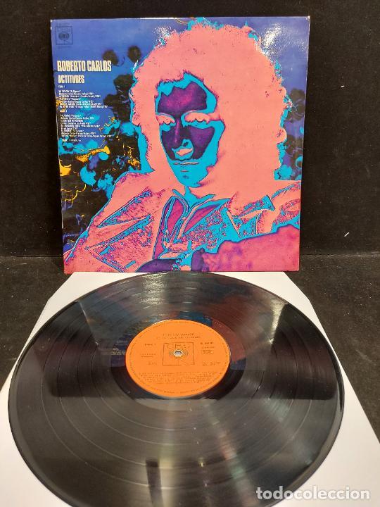 ROBERTO CARLOS / ACTITUDES / LP - CBS-1974 / MBC. ***/*** (Música - Discos - LP Vinilo - Grupos y Solistas de latinoamérica)
