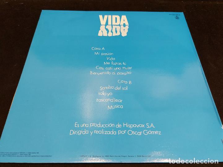 Discos de vinilo: PALOMA SAN BASILIO / VIDA / LP - HISPAVOX-1988 / MBC. ***/*** LETRAS - Foto 2 - 277146878