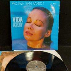 Discos de vinilo: PALOMA SAN BASILIO / VIDA / LP - HISPAVOX-1988 / MBC. ***/*** LETRAS. Lote 277146878
