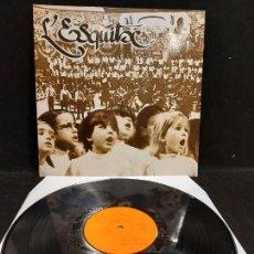 Discos de vinilo: L'ESQUITX / CORAL SANT JORDI / 20 ANIVERSARI 1962-1982 / LP - AUDIOFÓN-1982 / MBC. ***/***. Lote 277148503