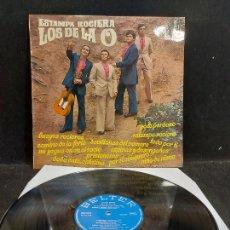 Discos de vinilo: LOS DE LA O / ESTAMPA ROCIERA / LP - BELTER-1974 / MBC. ***/***. Lote 277149218