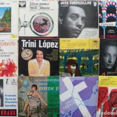 Discos de vinilo: LOTE 24 SINGLES 7 PULGADAS VINILO + VARIOS DISCOFLEX. Lote 277151188