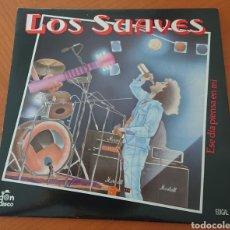 Disques de vinyle: LOS SUAVES LP, ESE DÍA PIENSA EN MÍ, 1988,CON ENCARTE, MUY BUEN ESTADO. Lote 277151658