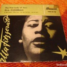 Discos de vinilo: ELLA FITZGERALD EP 45 RPM AIR MAIL SPECIAL BRUNSWICK ESPAÑA 1959. Lote 277154773
