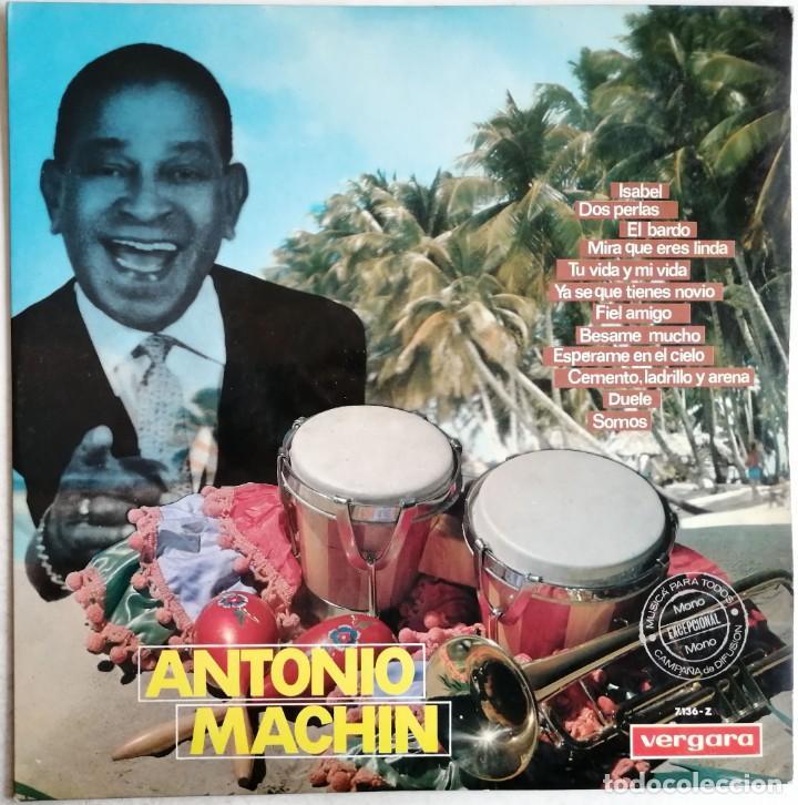 ANTONIO MACHIN, ANTONIO MACHIN, VERGARA 7.136-Z, 7136-Z (Música - Discos - LP Vinilo - Grupos y Solistas de latinoamérica)