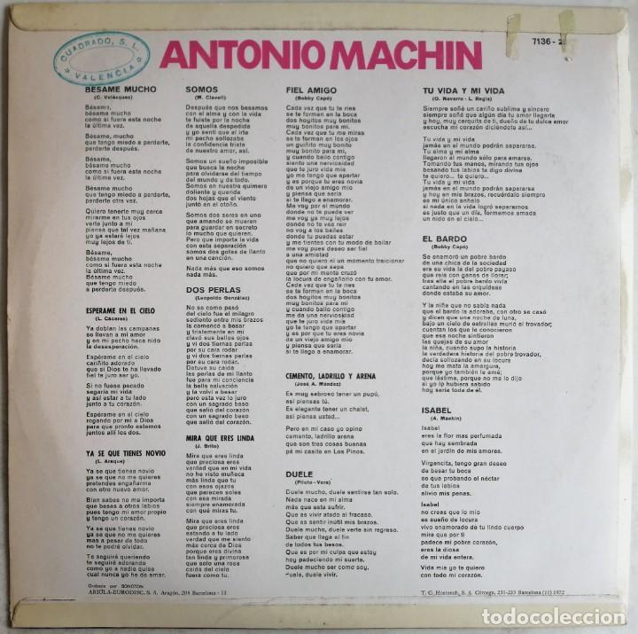 Discos de vinilo: Antonio Machin, Antonio Machin, Vergara 7.136-Z, 7136-Z - Foto 2 - 277156593