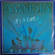 Discos de vinilo: AMNESIA, IT'S A DREAM (REMIX), DISCO SMASH INTERNATIONAL, INDISC BENELUX DID 127981. Lote 277157048