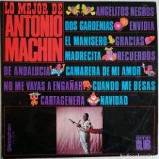 Discos de vinilo: ANTONIO MACHIN, LO MEJOR DE ANTONIO MACHIN, DISCOPHON S.C. 2.025, 2.025. Lote 277158773