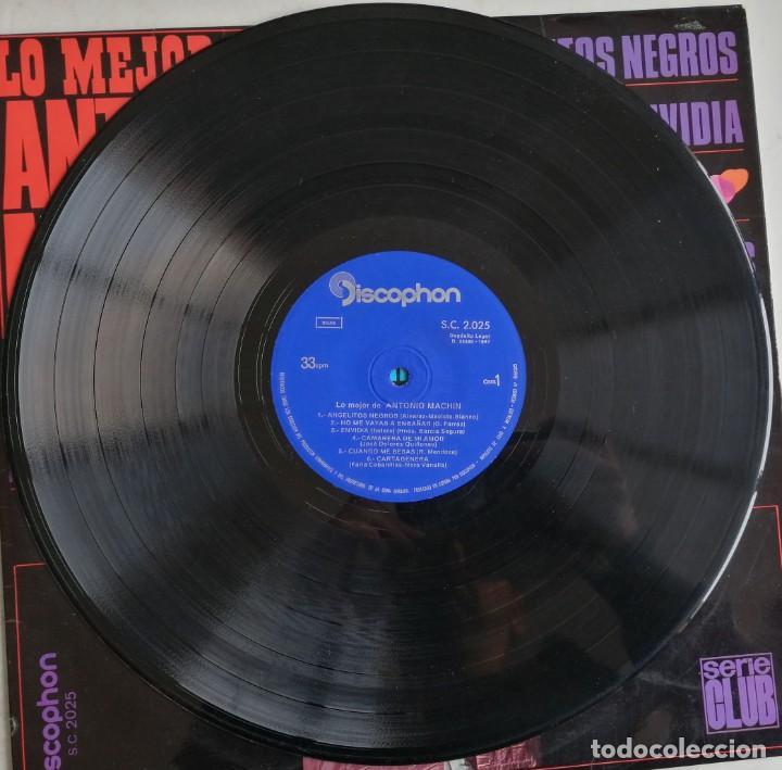 Discos de vinilo: Antonio Machin, Lo Mejor De Antonio Machin, Discophon S.C. 2.025, 2.025 - Foto 3 - 277158773