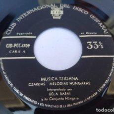 Discos de vinilo: EP BELA BABAI - MUSICA TZIGANNA. Lote 277159503