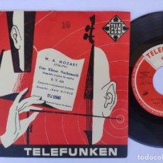 Discos de vinilo: W.A. MOZART - EINE KLEINE NACHTMUSIX - CONJUNTO INSTRUMENTAL SINFONIR - JEAN WITOLD. Lote 277159568