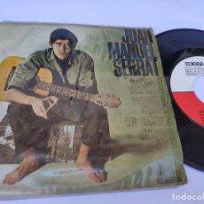Discos de vinilo: EP JOAN MANUEL SERRAT - CANCION DE LA MATINADA. Lote 277159778