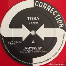 "Discos de vinilo: TOBA (2) - MOVING UP (12"", RED). Lote 277161613"
