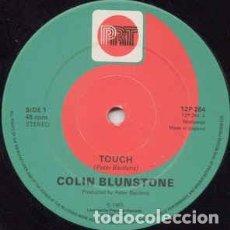 """Discos de vinilo: COLIN BLUNSTONE - TOUCH (12""""). Lote 277162118"""