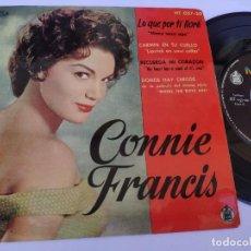Discos de vinilo: CONNIE FRANCIS - EP SPAIN PS - EX * LO QUE POR TI LLORE ( MANY TEARS AGO ) + 3 * AÑO 1961 HT 057-20. Lote 277165883
