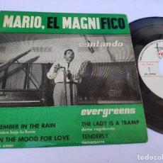 Discos de vinilo: MARIO EL MAGNIFICO - EP SPAIN PS - EX * VOCAL JAZZ * SEPTEMBER IN THE RAIN + 3 * VARIETY 1960. Lote 277168048