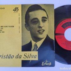 Discos de vinilo: TRISTAO DA SILVA - EP PORTUGAL PS - MINT * AIS DO FADO / OUVE ESTE FADO / AI SE OS MEUS OLHOS FALASS. Lote 277169238