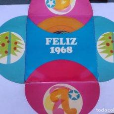 Discos de vinilo: ZAFIRO NOVOLA 1968 * EP SPAIN PS * EX * EP PROMOCIONAL PUBLICIDAD DE ZAFIRO NOVOLA * NAVIDAD 1968. Lote 277169508