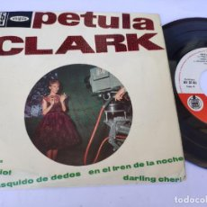Discos de vinilo: PETULA CLARK - EP SPAIN PS - EX * CHARIOT / CHASQUIDO DE DEDOS + 2 * VOGUE HV 27-85 * AÑO 1962. Lote 277171353