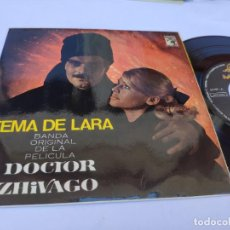 Discos de vinilo: OST DOCTOR ZHIVAGO - EP SPAIN PS - MINT * TEMA DE LARA + 3. Lote 277171553