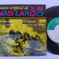Discos de vinilo: OST EL DIA MÁS LARGOS - EP SPAIN PS - MINT * INTERPRETA THE SOLDIER'S BAND OF AMERICA * 1963. Lote 277171788