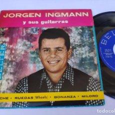 Discos de vinilo: JORGEN INGMANN - EP SPAIN PS - MINT * APACHE / WHEELS / BONANZA / MILORD * BELTER 1962. Lote 277172013