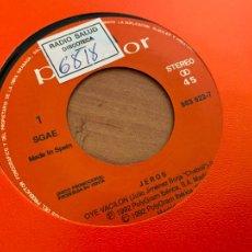 Discos de vinilo: JEROS (OYE VACILON) SINGLE 1992 PROMO (EPI24). Lote 277172268
