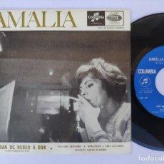 Discos de vinilo: AMALIA - EP PORTUGAL PS - MINT * VOU DAR DE BEBER A DOR / FADINHO SERRANO + 2. Lote 277173393