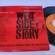 Discos de vinilo: OST WEST SIDE STORY - EP SPAIN PS - MINT * NATALIE WOOD / RICHARD BEYMER. Lote 277179688
