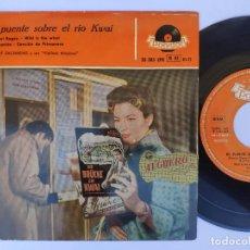 Discos de vinilo: OST EL PUENTE SOBRE EL RIO KWAI - EP SPAIN PS - MINT * HELMUT ZACHARIAS. Lote 277179773