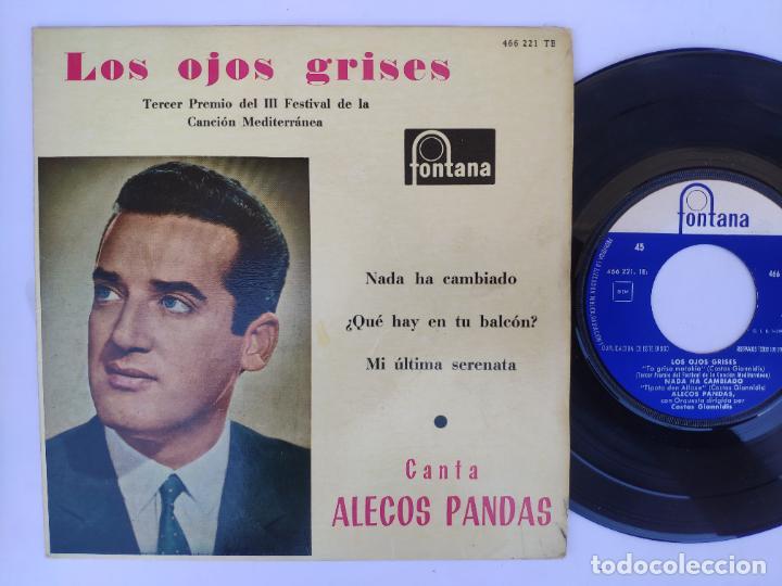 ALECO PANDAS - EP SPAIN PS - MINT * LOS OJOS GRISES + 3 (Música - Discos de Vinilo - EPs - Otros Festivales de la Canción)