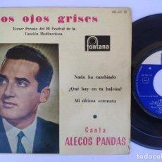 Discos de vinilo: ALECO PANDAS - EP SPAIN PS - MINT * LOS OJOS GRISES + 3. Lote 277180008