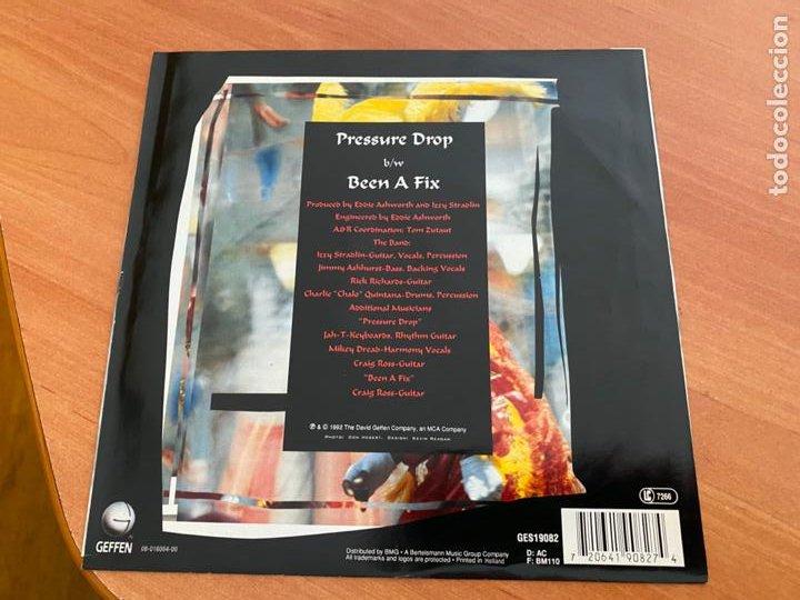 Discos de vinilo: IZZY STRADLIN (PRESSURE DROP) SINGLE 1992 (EPI24) - Foto 3 - 277181818