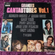 Discos de vinilo: GRANDES CANTAUTORES VOL. 1 , 2 X VINYL 1978 SPAIN S 26.010. Lote 277184783