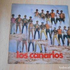 Discos de vinilo: CANARIOS, LOS, SG, PEPPERMINT FRAPPE + 1, AÑO 1967. Lote 277186338
